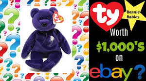 beanie es worth money on ebay can you get thousands for them