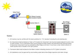 solar interconnect   blue ridge electric cooperativeclick to view larger diagram   notes