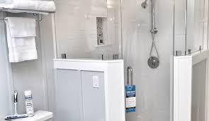 frameless custom shower enclosure