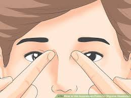 image led use acupressure points for migraine headaches step 2