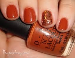 Opi Fall Nail Designs Happy Thanksgiving Orange Nails Thanksgiving Nails