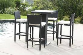 full size of outdoor wicker bar table and stools trade assurance synthetic rattan patio kitchen magnificent