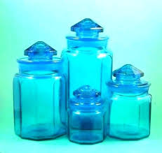 clear glass canister sets clear glass canister sets blue canisters kitchen medium size of ceramic set clear glass canister