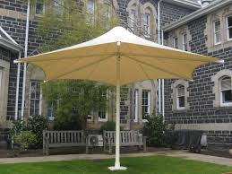 large commercial wind rated permanent umbrellas skyspan melbourne victoria