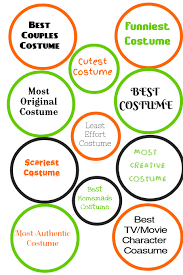 Costume Contest Certificate Template Award Ribbon Halloween Template Postermywall