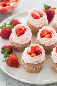 The Best Strawberry Cupcakes With Strawberry Frosting Video