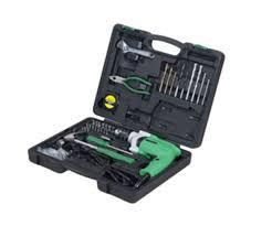 hitachi koki. drilling tools impact drills tool kit dv13ss hitachi koki a