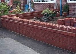 Small Picture Front Garden Wall A1 Joinery Ltd Preston