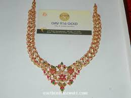 gold stone peacock necklace model