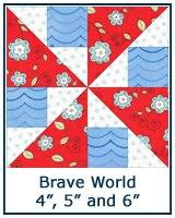 Free Paper Piecing Patterns Library & ... Brave World quilt block tutorial ... Adamdwight.com