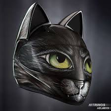 This cat ear accessory from helmet upgrades is the perfect addition to any boring helmet. Cat Ear Helmet Accessories Cat Ear Accessory