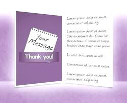 Business Thank You Card Template Cards Order Custom Templates