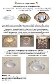 different lighting styles. Decorative Recessed Lighting Trim Options Different Lighting Styles