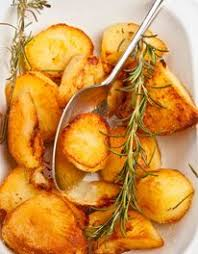 Oven Roasted potatoes (Mary Berry UK) includes idea for pre ...