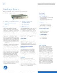 Ge Remote Access Line Power System Ge Automatic Transfer Switches Pdf Catalogue