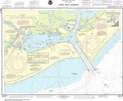 Noaa Nautical Chart 12317 Cape May Harbor