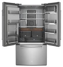 kitchenaid french door refrigerator. kitchenaid® 23.8 cu. ft. 36\ kitchenaid french door refrigerator e