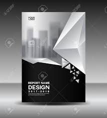 Black And White Flyer Template Cover Design Annual Report Vector Illustration Business Brochure 21