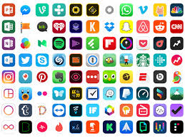 Apps Symbol Ultimate App Icons Set Sketch Freebie Download Free Resource For