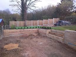garden retaining wall designs garden
