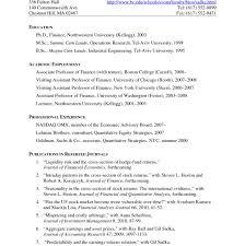 Resumes Template Harvard Business School Resume Sample Mba For