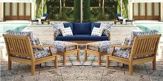 7 pc teak sofa set garden outdoor patio furniture pool deck sack dining set nw