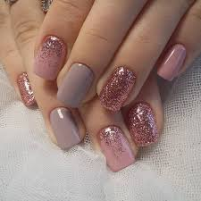 Short Nail Designs With Glitter 100 Perfect Winter Nails For The Holiday Season Glitter