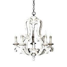 white orb chandelier