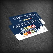Gift Certificate Designer Downtown State College Gift Card