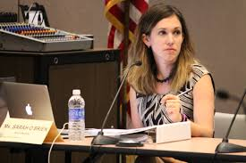 what does ritz s campaign move mean for the election sarah o brien currently serves as the state board s vice chair a position created