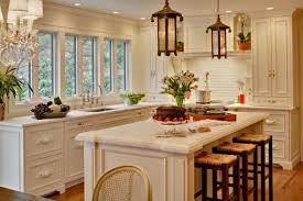 Pottery Barn Kitchen Furniture Kitchen Cabinets And Islands Cherry Wood Kitchen With Light