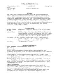 Software Engineer Sample Resume Software Developer Sample Resume