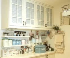 Kiss The Cook Kitchen Decor Kitchen Cabinet Blinds The Upper And Lower Cabinets Are Fr Flickr