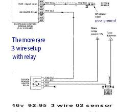bosch universal o2 sensor wiring diagram wiring diagram installation instruction for universal bosch oxygen sensor