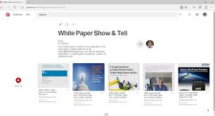 White Papers Sample Why White Paper Writers And Marketers Should Use Pinterest