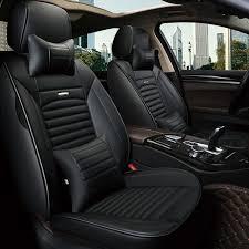 leather car seat covers cushion auto interior accessories for dodge caliber caravan journey ram 1500 intrepid