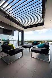 Decorations:Brilliant Exterior Design For Modern Terrace Roof Design Idea  Brilliant Exterior Design For Modern