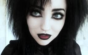 clic goth makeup view in gallery