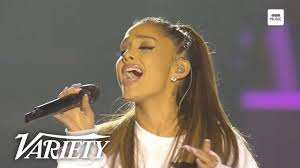 Ariana Grande Performs 'Somewhere Over the <b>Rainbow</b>' - One <b>Love</b> ...