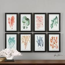 cool framed wall art set of 2