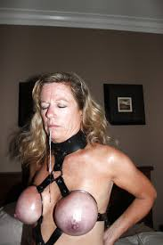Free hogtied bondage breast bondage
