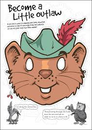 Cut Out Character Template Downloads Robin Hoods Little Outlaws