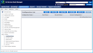 how to create a web engine webengine and object manager domsrvr screen shots content pack for ca service desk manager