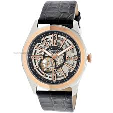 "men s kenneth cole skeleton automatic watch kc1792 watch shop comâ""¢ mens kenneth cole skeleton automatic watch kc1792"