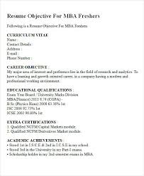 Resume Objectives For Freshers Inspiration 44 Fresher Resume Templates PDF DOC Free Premium Templates