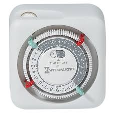 intermatic 15 amp plug in lamp and appliance timer white