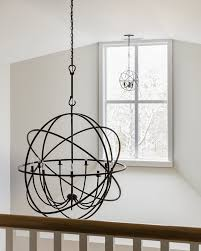 wolfers lighting solaris 9 light english bronze orb chandelier with crystal accents