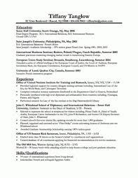 Best Business Resume Format 21 International Memo Example ...