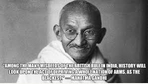 Gun Control Quotes Magnificent THE RIGHT PERSPECTIVE Facebook Suspends Acct Over Ghandi AntiGun