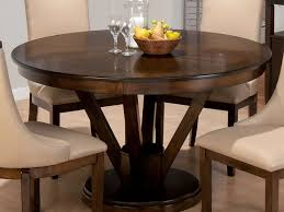 round dining table with leaf extension room gregorsnell in remodel rh thetastingroomnyc com 42 inch round